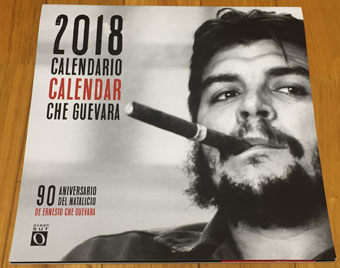 The 90th anniversary of the birth of Ernesto Che Guevara in 2018